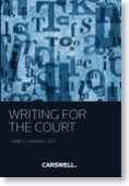 writing for the courts